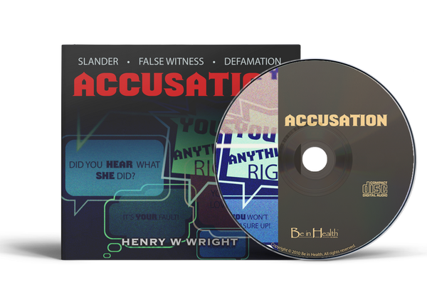 Accusation by Dr. Henry W. Wright