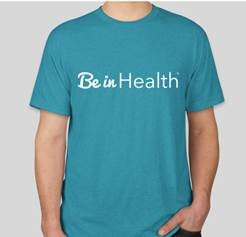 Be In Health Triblend T-Shirt - Blue