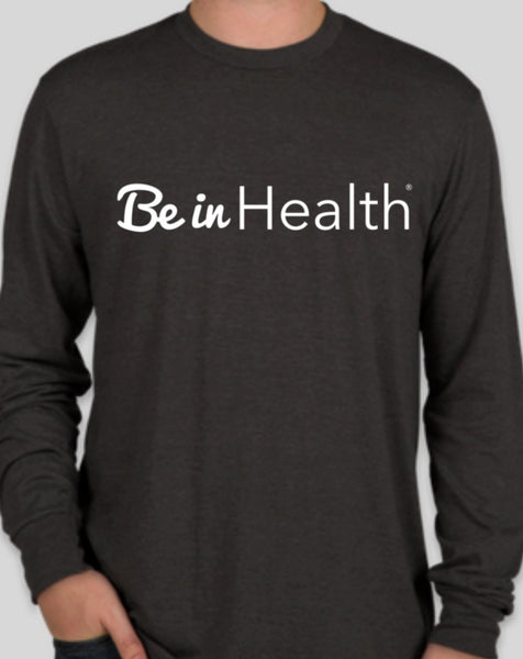 Be In Health Triblend Long Sleeve  - Grey