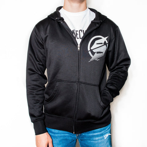 Team Water Resistant Zip-up Hoodie