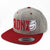 Crushed Flat Bill Snapback Hat