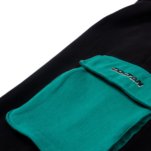 Studio Cargo Pants Emerald