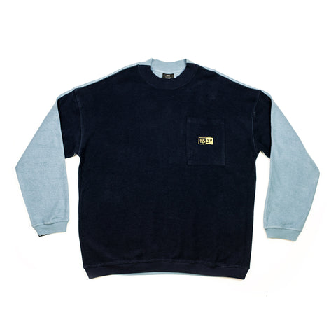 DBZD Two Tone Sweater Deep/Charcoal