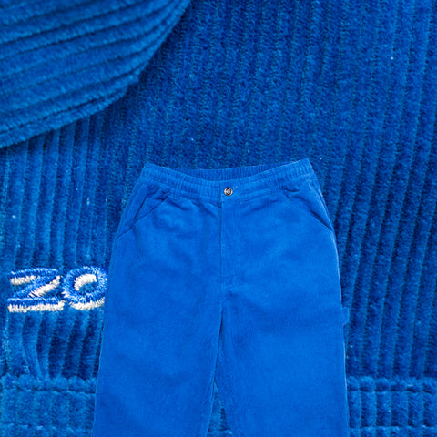 Corduroy Painter Pants Cobalt