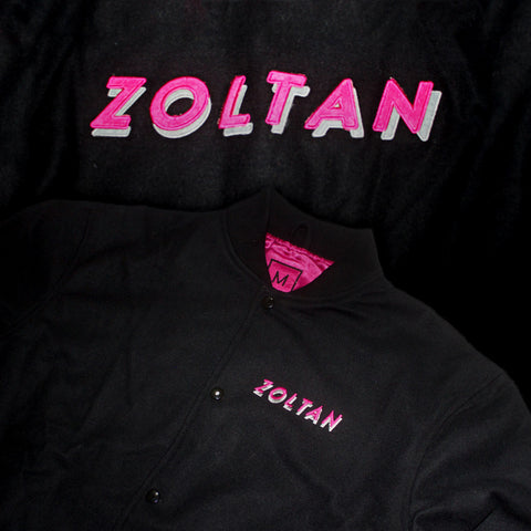 Zoltan Team Jacket Black/Hot Pink