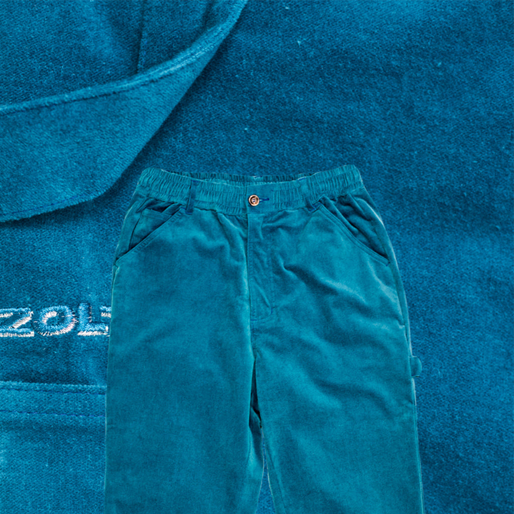 Painter Pants Brushed Emerald