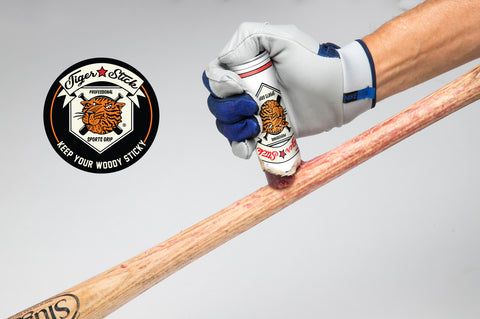 tiger stick baseball bat wax grip