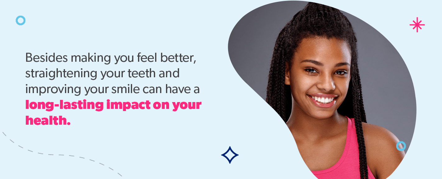 Improving your smile can have a long-lasting impact on your health.