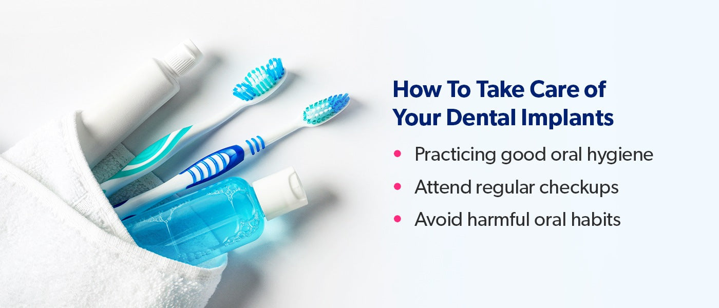 How to Take Care of Your Dental Implants [list]