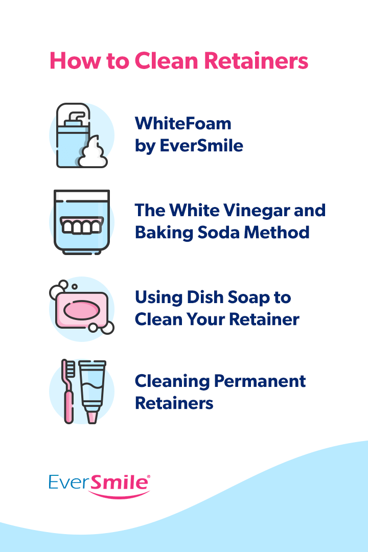 How to Clean Retainers [steps]