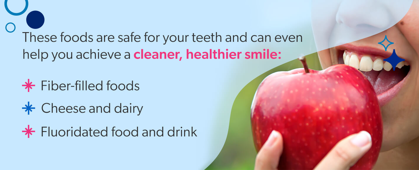 Foods that help achieve a cleaner, healthier smile [list]