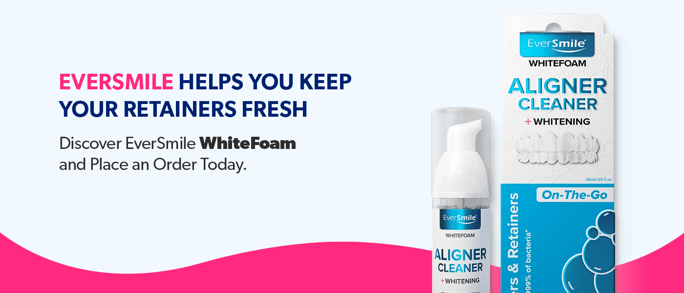 EverSmile helps you keep your retainers fresh, order today!