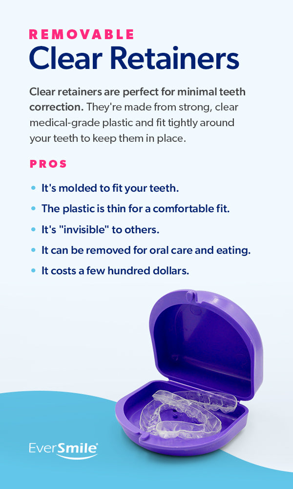 Pros of Removable Clear Retainers [list]