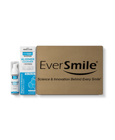 WhiteFoam For Clear Aligners & Retainers - EverSmile, Inc.