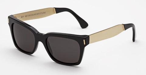 RetroSuperFuture Sunglasses America Francis Black