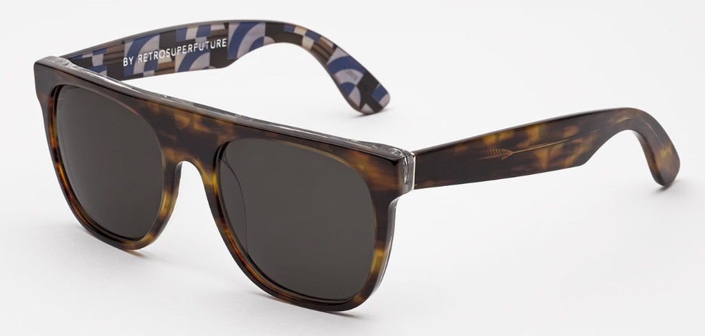 RetroSuperFuture Sunglasses Flat Top Geometria