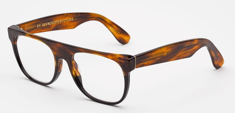 RetroSuperFuture Sunglasses Flat Top Havana Optical