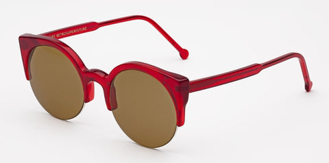 RetroSuperFuture Sunglasses Lucia Ruby Red