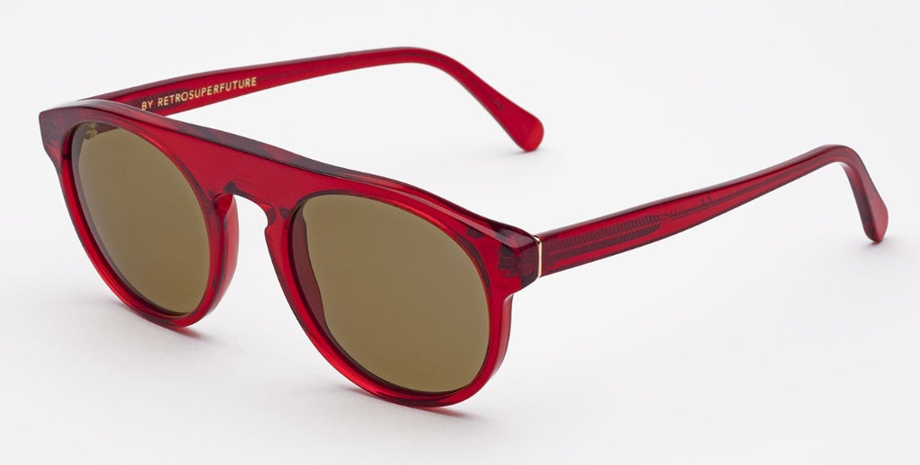 RetroSuperFuture Sunglasses Racer Ruby Red 51