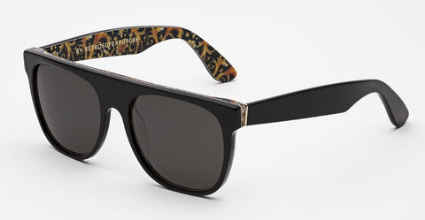 RetroSuperFuture Sunglasses Flat Top Maiolica Gold