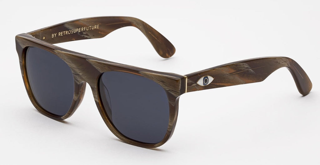 RetroSuperFuture Sunglasses Flat Top Malocchio