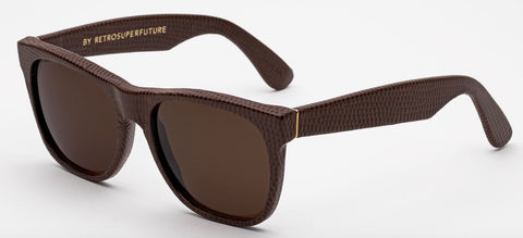 RetroSuperFuture Sunglasses Classic Brown Lizard