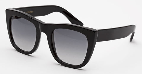 RetroSuperFuture Sunglasses Gals Black Intermix Exclusive
