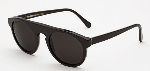 RetroSuperFuture Sunglasses Racer Black