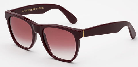 RetroSuperFuture Sunglasses Classic Sottobosco Bordeaux
