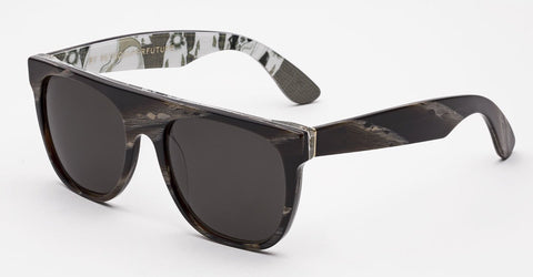RetroSuperFuture Sunglasses Flat Top Motorcycle