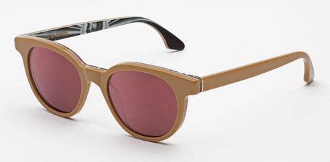 RetroSuperFuture Sunglasses Riviera Beige Modena 1973 collection