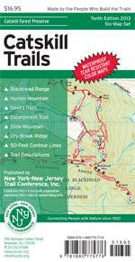 Catskill Trails Map