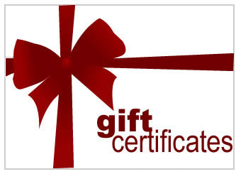 Gift Certificate (In Store)