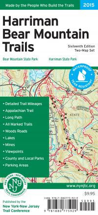 Harriman Bear Mtn Trail Map 15