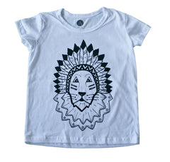 Noble Lion Tee - White
