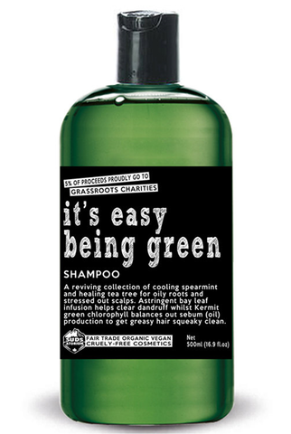 Sudsatorium It's Easy Being Green Shampoo ON SALE! Originally 21.95 (250ml) & 32.95 (500ml)