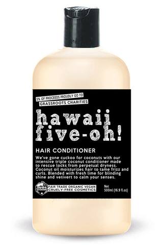 Sudsatorium Hawaii Five-Oh! Conditioner ON SALE! Originally 21.95 (250ml) & 32.95 (500ml)