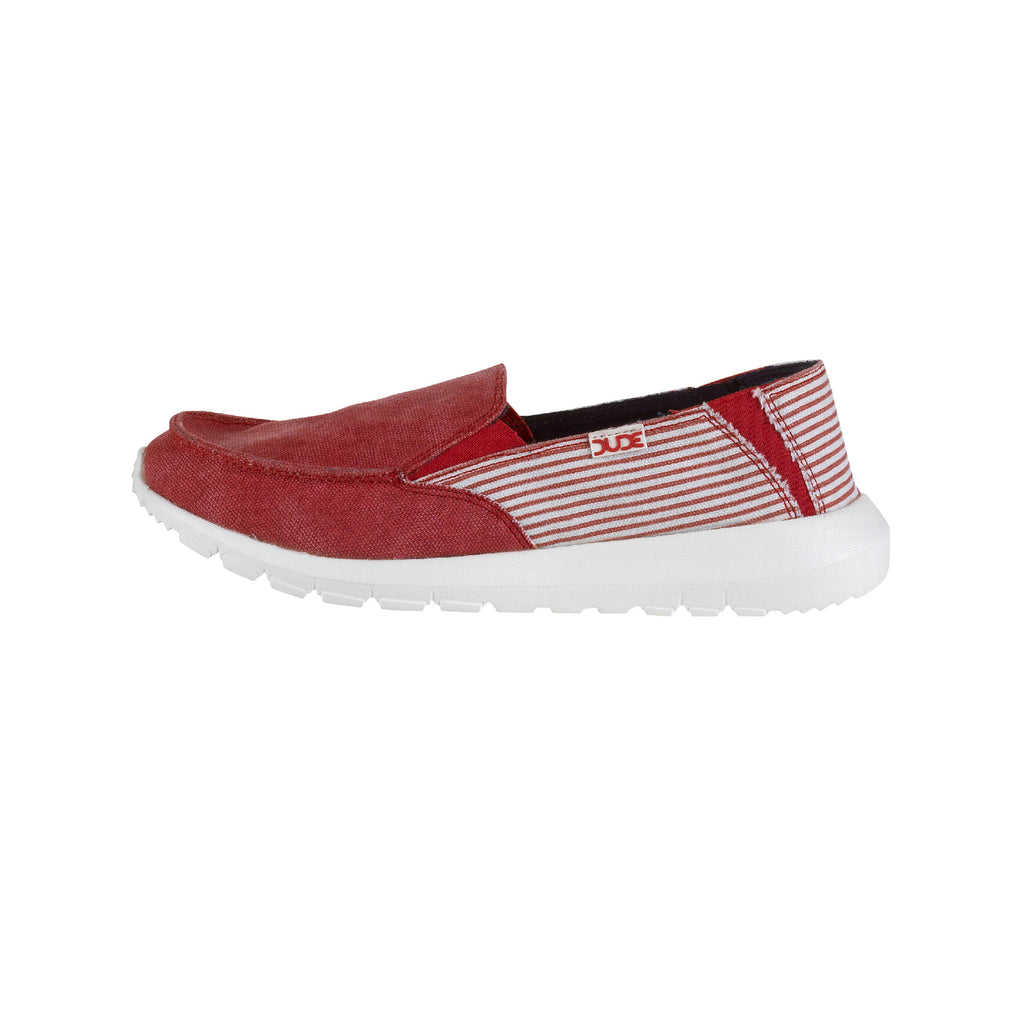 Hey DUDE Ava Stripe Ladies Slip on