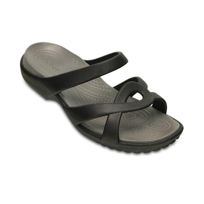 Crocs Meleen Twist Sandal Black/Smoke Womens