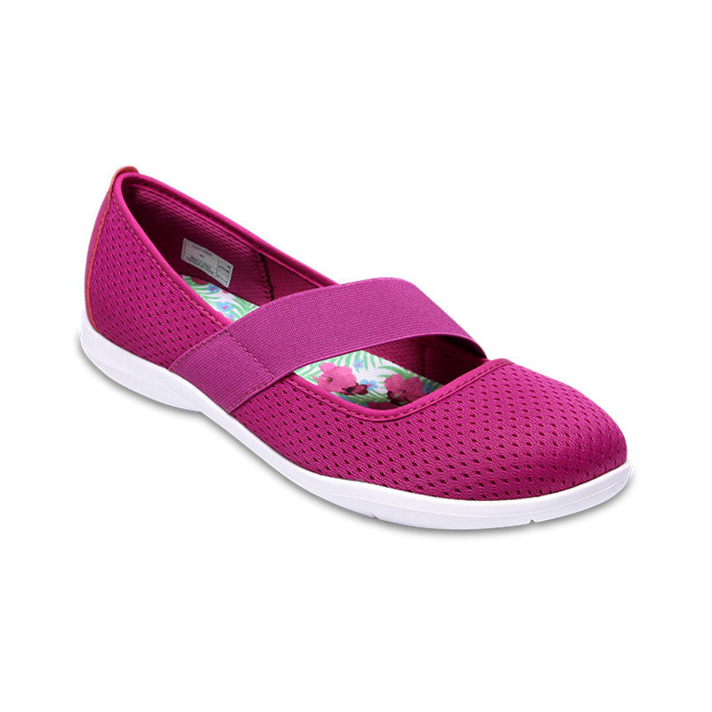 Crocs Womens Swiftwater Flat Vibrant Violet-White