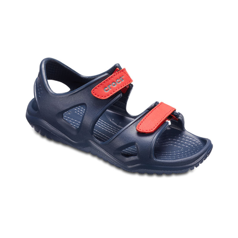 Crocs Kids Swiftwater River Sandal Navy Flame