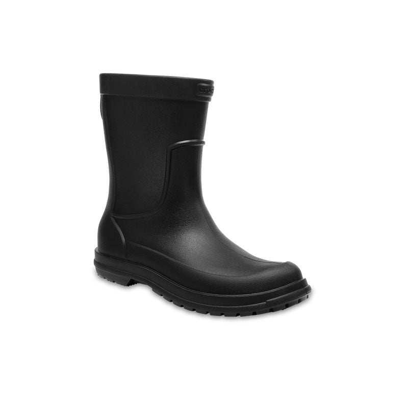 Crocs Mens Allcast Rain Boot Black