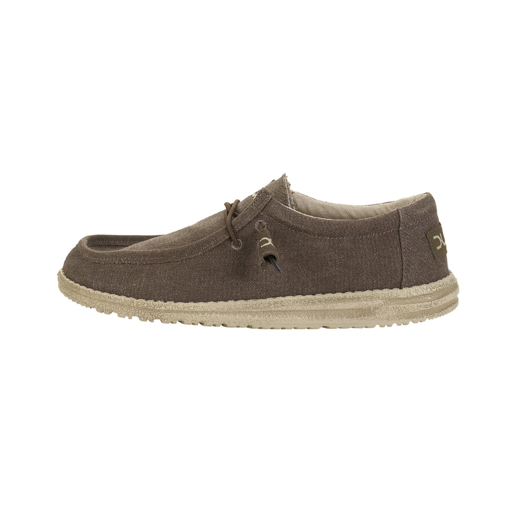 Hey Dude Wally Classic Canvas Wenge