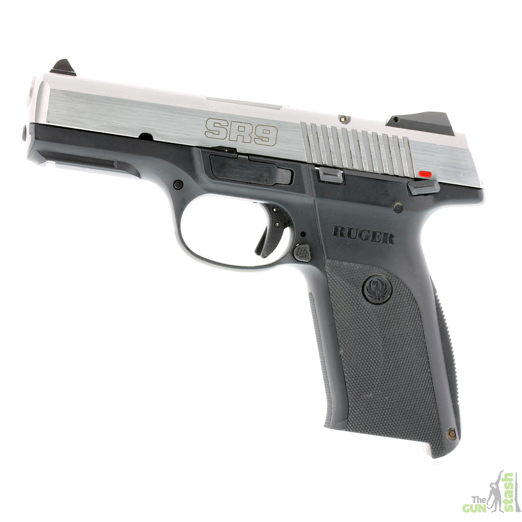 Ruger SR9 Stainless Steel 9mm - Ruger - The Gun Stash - 1
