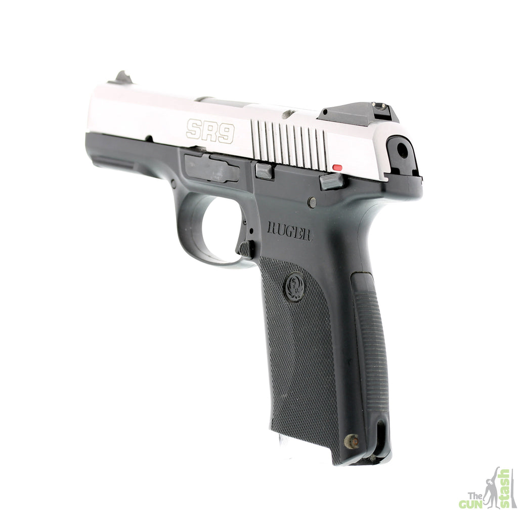 Ruger SR9 Stainless Steel 9mm - Ruger - The Gun Stash - 2
