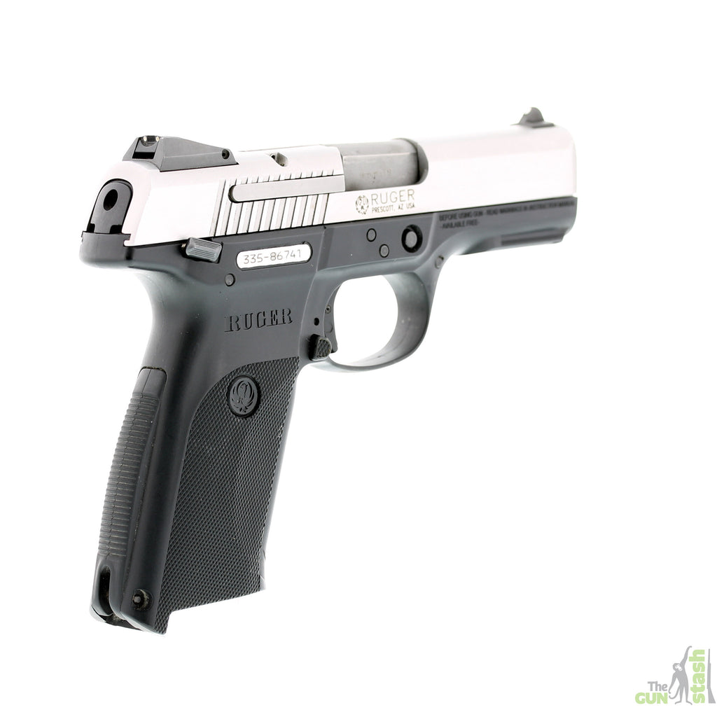 Ruger SR9 Stainless Steel 9mm - Ruger - The Gun Stash - 3