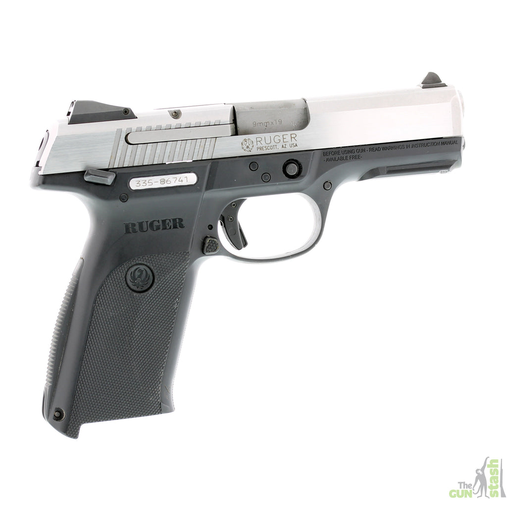 Ruger SR9 Stainless Steel 9mm - Ruger - The Gun Stash - 4