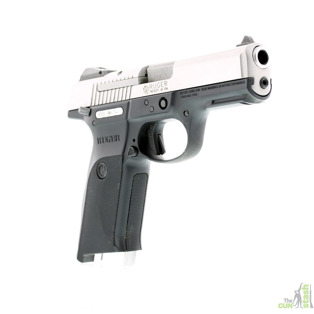 Ruger SR9 Stainless Steel 9mm - Ruger - The Gun Stash - 5