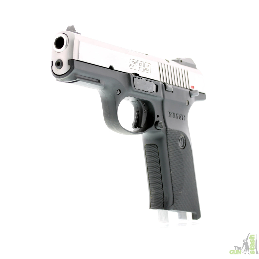 Ruger SR9 Stainless Steel 9mm - Ruger - The Gun Stash - 6
