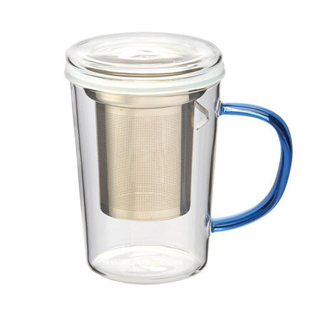 Glass Mug w/ Tilt Infuser